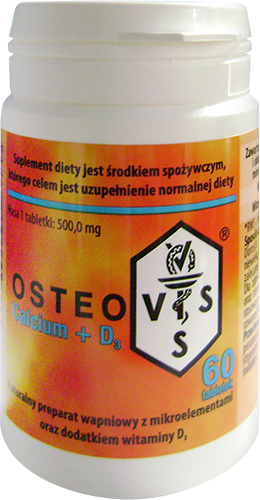 OSTEOVIS Calcium + D3